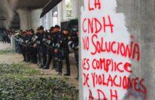 IMAGEN DEL DÍA | Marchan a la CNDH para exigir que intervenga en varios estados