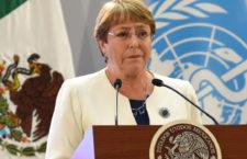 Cifras de homicidios y desapariciones alertan a Alta Comisionada de la ONU