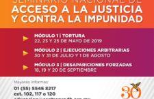 EN AGENDHA | Seminario Nacional de Acceso a la Justicia y Contra la Impunidad