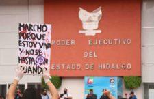 IMAGEN DEL DÍA | Mujeres hidalguenses exigen frenar violencia en región de Tula