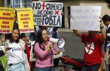 IMAGEN DEL DÍA | Huelga de hambre por asesinatos de personas LGBT