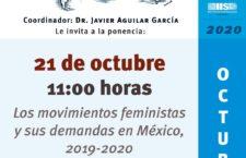 """EN AGENDHA   Ponencia """"Los movimientos feministas y sus demandas en México, 2019-2020"""""""