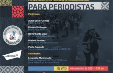 EN AGENDHA | Presentación de página de seguridad integral para periodistas