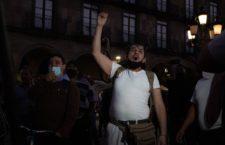 IMAGEN DEL DÍA | Jaliscienses se manifiestan en contra del Botón de Emergencia