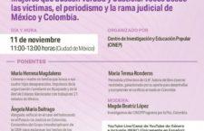 """EN AGENDHA   Panel """"Mujeres que buscan verdad y justicia"""""""