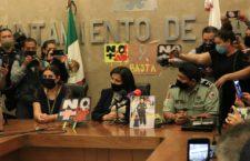IMAGEN DEL DÍA | Prensa guanajuatense exige justicia por Israel