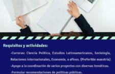 EN AGENDHA | Vacante de investigador(a) para Innovación y Desarrollo Sostenible