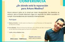 EN AGENDHA   Conferencia sobre reparación a persona con discapacidad injustamente encarcelada