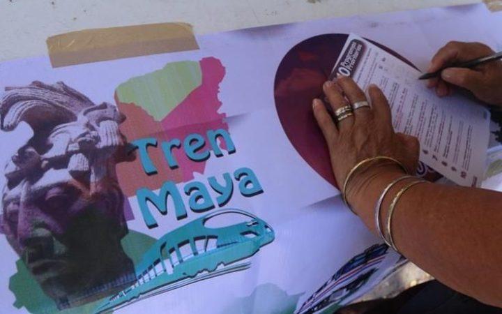 Dictan suspensión provisional de obras del Tren Maya en Yucatán