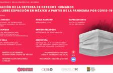 EN AGENDHA   Informe sobre defensa de derechos humanos y libertad de expresión en México