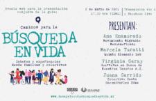 """EN AGENDHA   Presentación de la guía """"Caminos para la Búsqueda en Vida"""""""