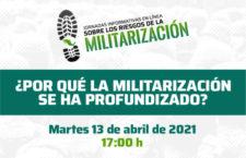 EN AGENDHA | Jornadas informativas en línea sobre los riesgos de la militarización