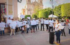 IMAGEN DEL DÍA | Exigen la aparición con vida de Cristian, desaparecido en Jalisco