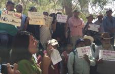 IMAGEN DEL DÍA | Rechazan comunidades proyecto minero en Oaxaca