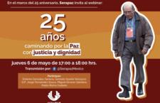 EN AGENDHA | Webinar por los 25 años de Serapaz