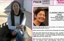 Clamor por justicia y localización de Claudia Uruchurtu