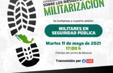 EN AGENDHA | Jornada informativa sobre los riesgos de la militarización