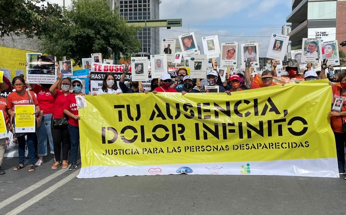 IMAGEN DEL DÍA   Exigen investigación por 5 mil desaparecidos en Nuevo León