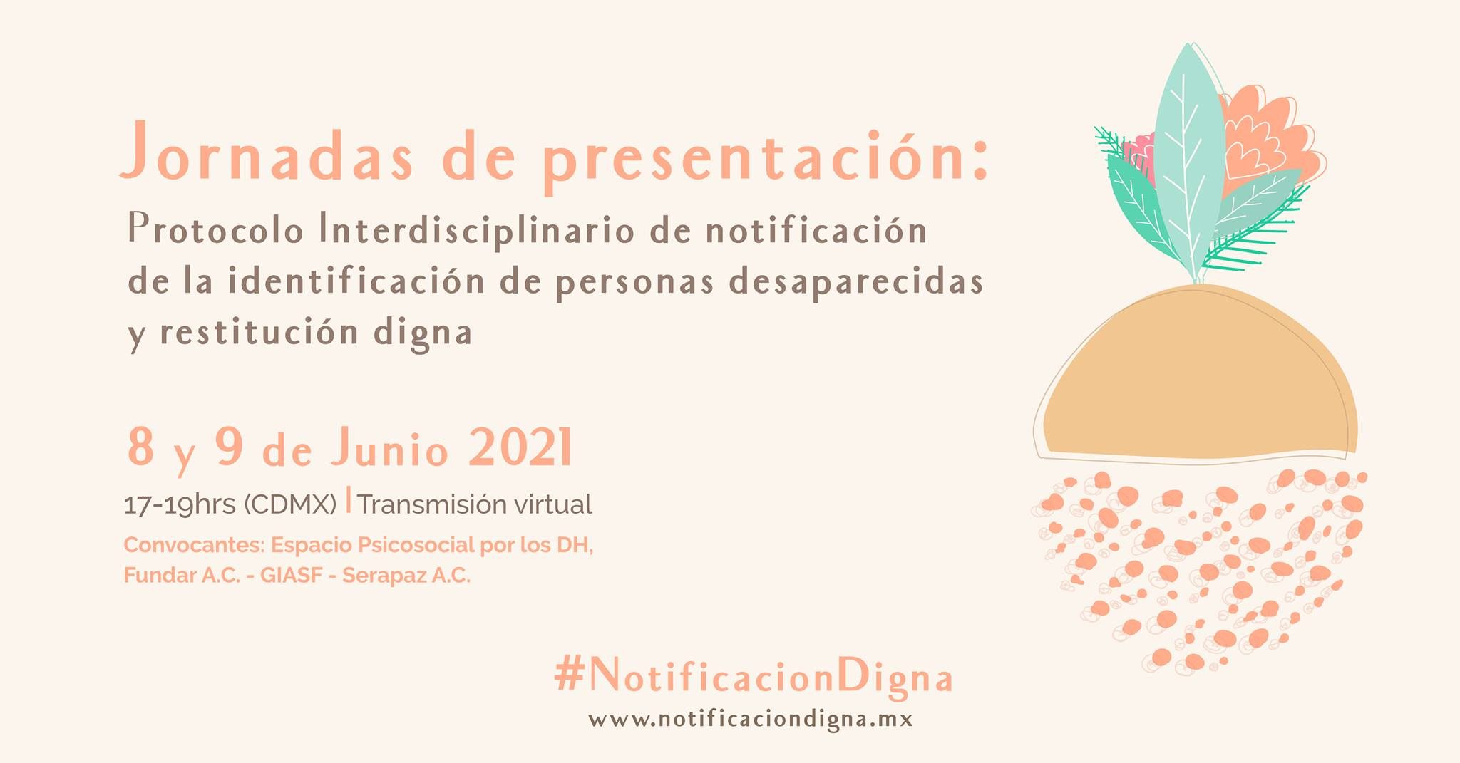 EN AGENDHA | Protocolo de notificación de identificación de personas desaparecidas y restitución