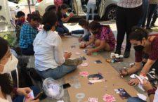 IMAGEN DEL DÍA | Dan despedida simbólica a Zyanya en Puebla