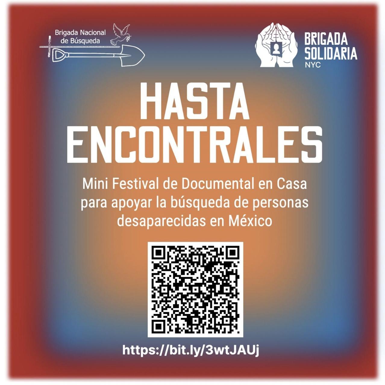 EN AGENDHA | Mini festival de documental en apoyo a búsqueda de personas desaparecidas