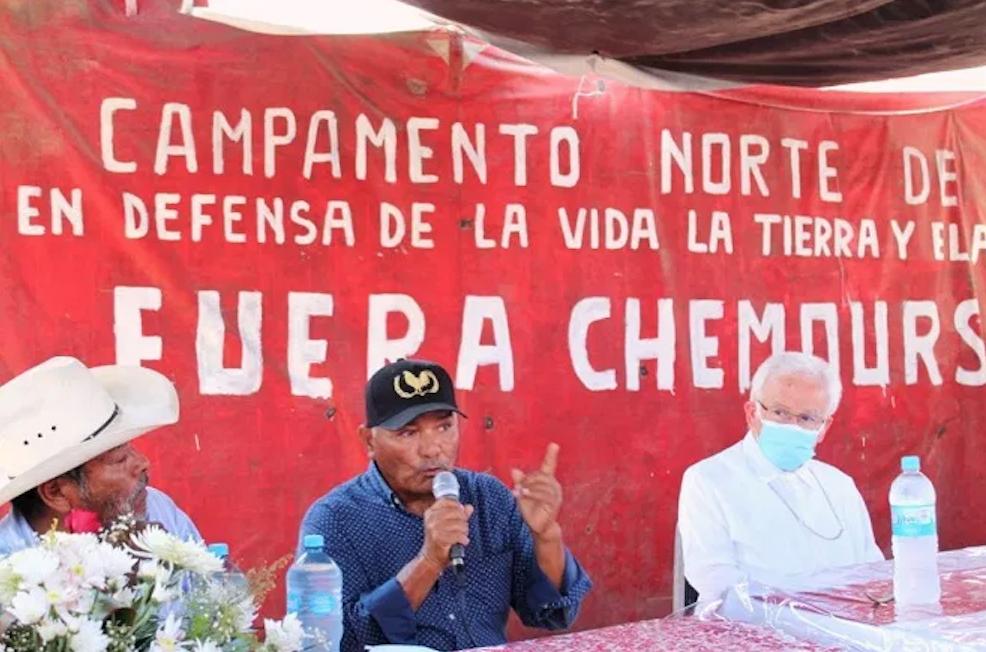 """FRASE DEL DÍA   """"Esta empresa nos ha robado cuatro años de nuestras vidas"""": vocero del Frente Unido de Pueblos de La Laguna en Defensa de la Vida y el Territorio"""