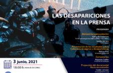 EN AGENDHA   Presentación: Las Desapariciones en la Prensa