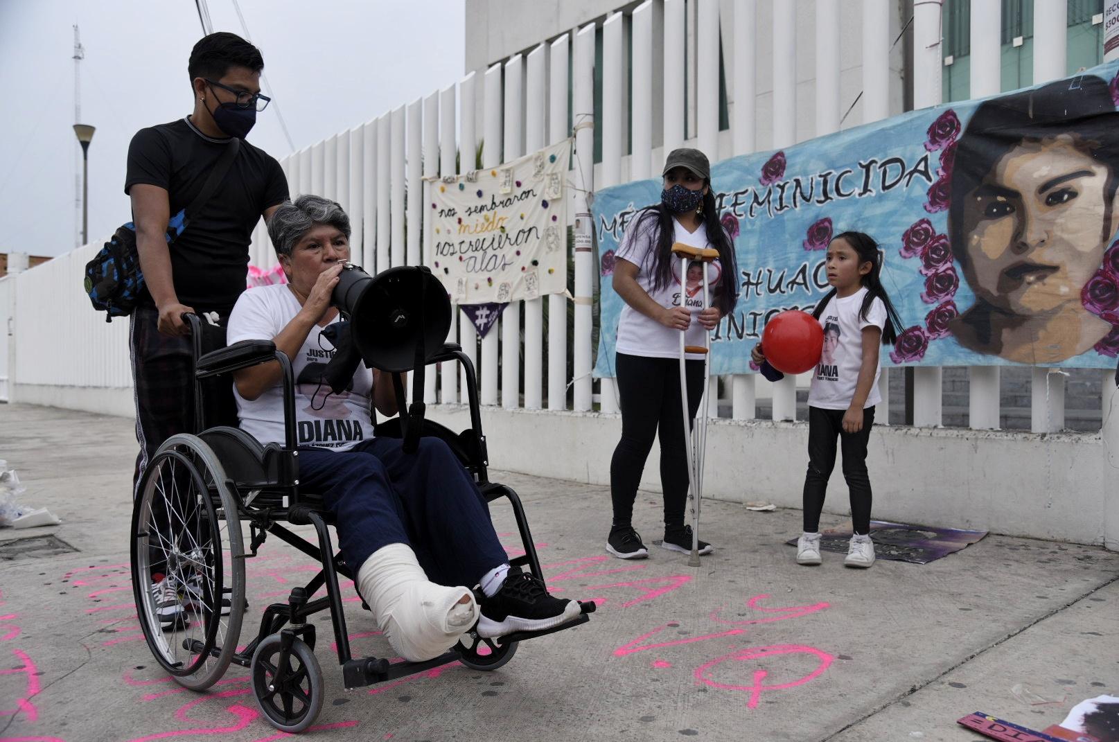 IMAGEN DEL DÍA | Exigen justicia para Diana, víctima de feminicidio en Chimalhuacán