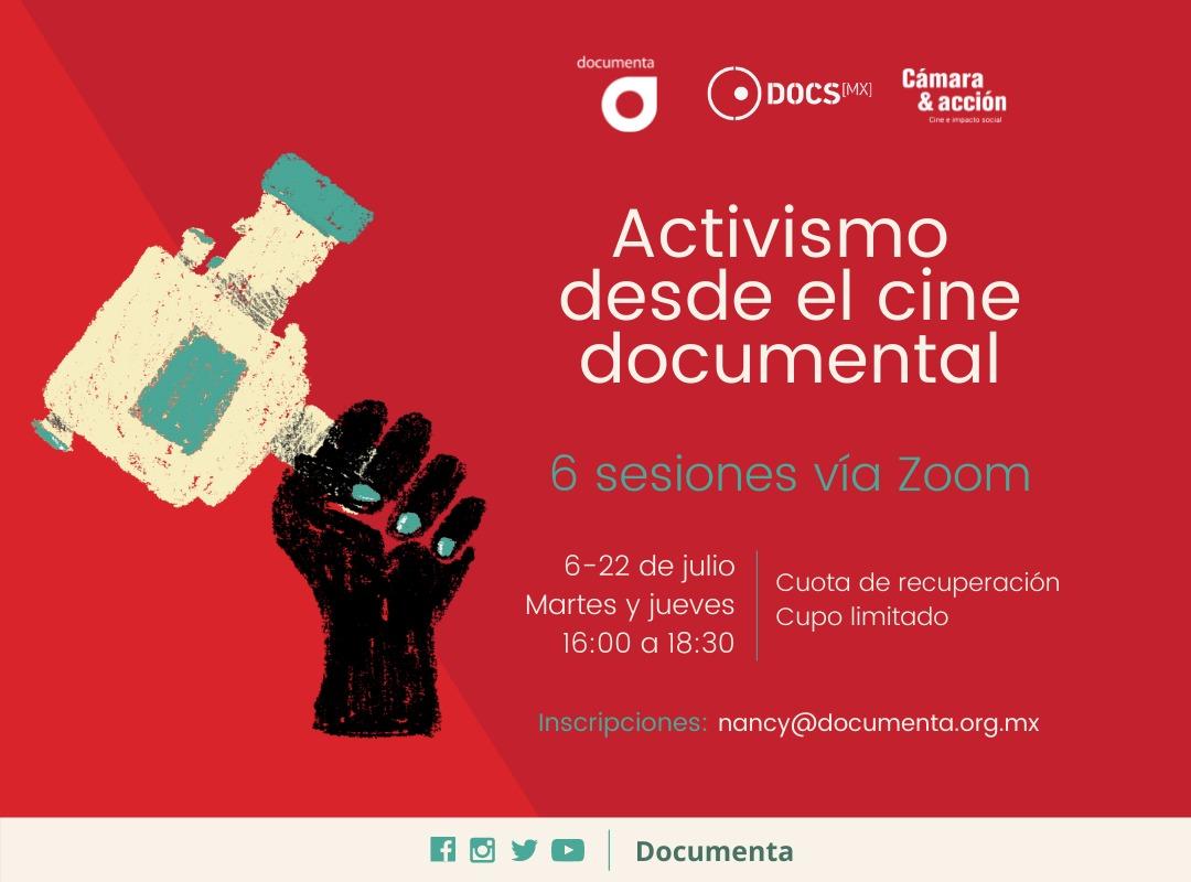 """EN AGENDHA   Curso """"Activismo desde el cine documental"""""""