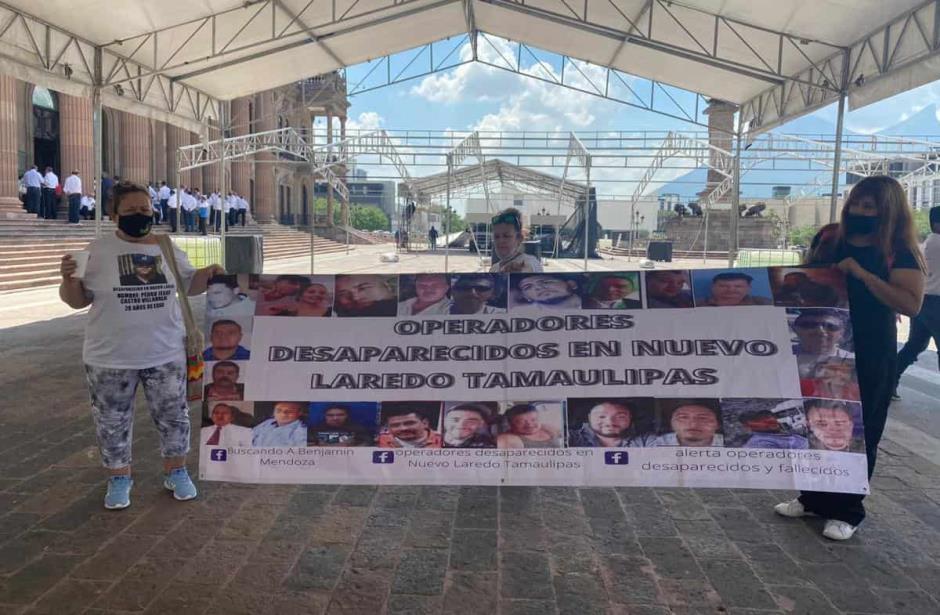 IMAGEN DEL DÍA | Protestan en Monterrey por desaparecidos en Nuevo Laredo