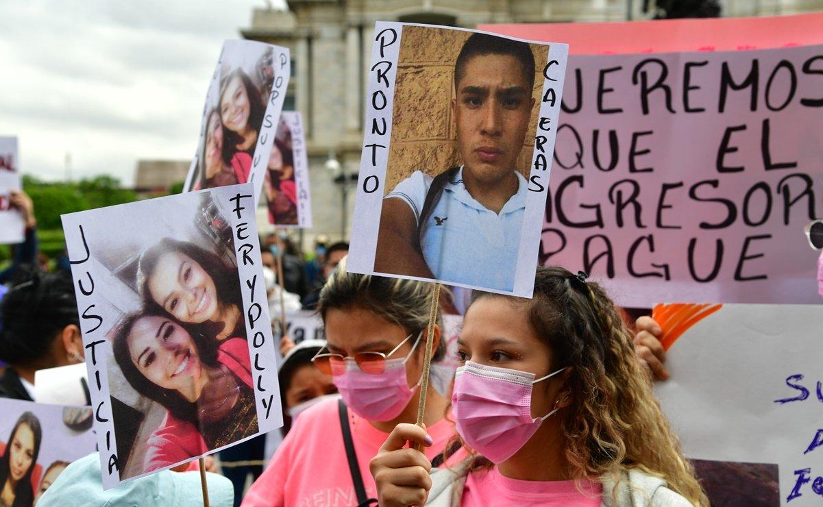 IMAGEN DEL DÍA | Marchan y exigen justicia para Fer y Polly