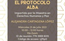 EN AGENDHA | Taller virtual sobre el Protocolo Alba