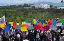 IMAGEN DEL DÍA | Exigen zapotecos al PJF resolver amparo de San Pedro Quiatoni