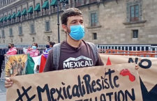 IMAGEN DEL DÍA | Protestan contra criminalización de activistas de Mexicali Resiste