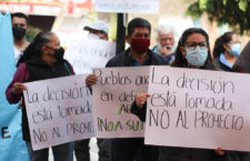 """IMAGEN DEL DÍA   Pobladores en Xochimilco rechazan proyecto de """"despojo""""de agua"""