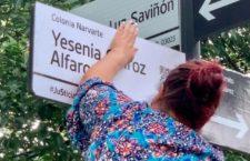 IMAGEN DEL DÍA | Con placa, conversatorios y arte recuerdan a las víctimas del multihomicidio Narvarte