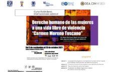 EN AGENDHA | Curso de estándares internacionales sobre el derecho humano de las mujeres a una vida libre de violencia
