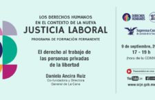 """EN AGENDHA   Conferencia """"El derecho al trabajo de las personas privadas de la libertad"""""""