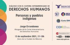 EN AGENDHA   Diálogo con el Sistema Interamericano de Derechos Humanos: Personas y pueblos indígenas