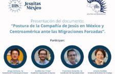 """EN AGENDHA   Presentación del documento """"Postura de la Compañía de Jesús en México y Centroamérica ante las Migraciones Forzadas"""""""