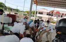 IMAGEN DEL DÍA | INM y GN detienen a migrantes en Mapastepec, Chiapas
