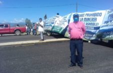 IMAGEN DEL DÍA   Con bloqueo, piden cancelar proyecto minero San José, en Oaxaca