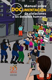 Portada del Manual sobre documentación de violaciones a los derechos humanos