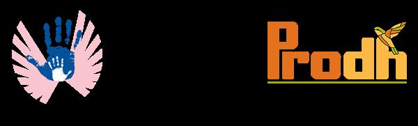Logos Centro Prodh y Movimiento cinco de junio