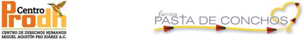 Logos del Centro Prodh y Familia Pasta de Conchos