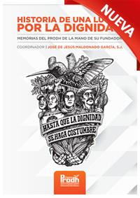 Portada del libro, Historia de una lucha por la dignidad